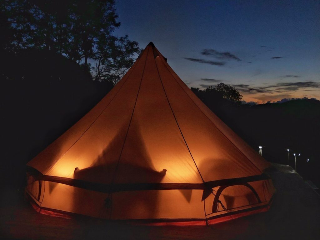 Bell Tent Glow